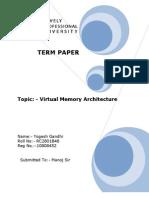 Final Term Paper Cse211