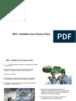 DDS - Cuidados Com a Fauna e Flora