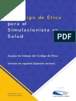 Código ética Simulacion