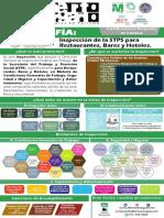 Infografía Inspección STPS Restaurantes Bales y Hoteles