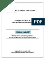 Modulo Grado 10º Scs Resultado Seminario 2014 Version 10 Septiembre