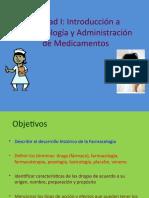 Clase 1 Historia de La Farmacologia