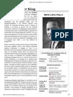 Martin Luther King - Wikipedia, La Enciclopedia Libre