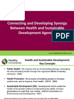 Health and Sustainable Development Powerpoint Presentation2