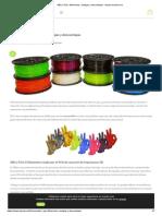 ABS y PLA_ Diferencias, Ventajas y Desventajas - Impresoras3d.com