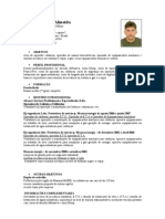 Wesley de Assis Almeida Curriculum I Operador de Caldeiras
