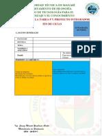 Matriz Para La Tarea 7 Proyecto Integrador Fin de Ciclo
