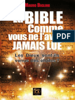 La Bible Comme Vous Ne Lavez Jamais Lue Mauro BIGLINO
