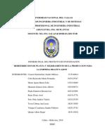 Propuesta de Redistribucion de Planta y Mejoramiento de La Produccion en La Empresa Bilens Aron-peru