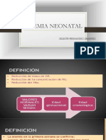 Anemia Neonatal y Policitemia