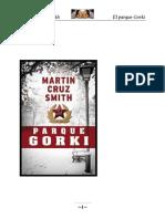 Cruz Smith Martin - Arkady Renko 01 - El Parque Gorky