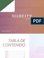 Folleto Velocity Co