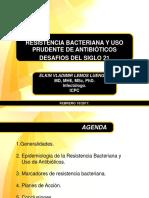 Uso de Antibioticos y Resistencia Bacteriana 2017
