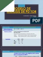Modelo de Análisis de PD TOR