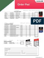 OP Fujitsu Batteries 1011