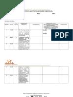 Modelo Planificación 2019