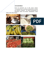 Agroexportacion en Guatemala