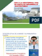 1.- Generalidades - Introducción y Tipos de Yacimientos (General); La Situación Global; Ventajas y Desventajas.