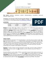Ancient Egypt Fourth Text Religion