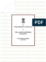 PM MSME Task Force Jan2010