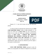 Jurisprudencia Proceso Divisorio I. STL5914-2018