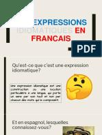 Les expression en francais