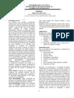 Informe 3. Porifera
