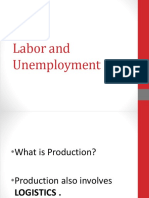 Labor and Unemployment