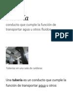Tubería - Wikipedia, La Enciclopedia Libre