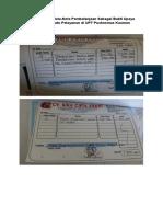 Dokumentasi nota