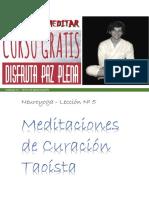 5 Meditaciones de Curacion Taoistas