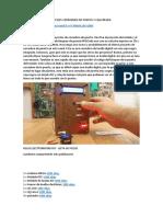 Sensor de Huellas Digitales Cerradura de Puerta y Caja Negra