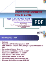 Country Report Malaysia