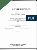 Monier Williams - Sanskrit - English Dictionary