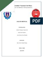 Salud Mental , Grupo 8