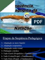 Seqüência pedagógica Natacao
