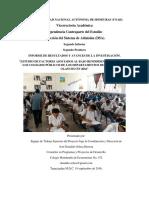 II Iniforme Estudio Factores Asoc. Al Bajo Rendimiento de La Paa en Choluteca y Olancho en 2016. 19 Sept. 16