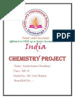 Chemistry Proect