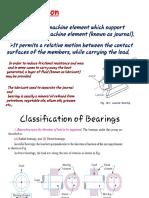 Design of Bearings
