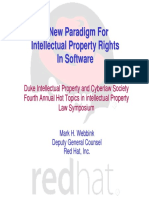A New Paradigm for Intellectual Property Rights in Software