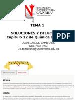 Tema 1. Soluciones y Diluciones