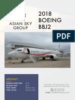 Aircraft Spec BBJ2 SN42510