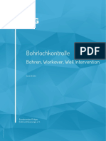 Bohrlochkontrolle - Bohren, Workover, Well Intervention