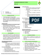 10 LM Comprehensive Drug Act