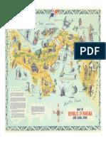 Mapa Turistico de Panamá