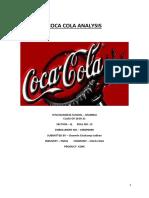Coca Cola Analysis