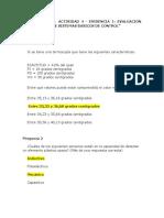 """Actividad 4 - Evidencia 1 Evaluación """"Elaboración de Sistemas Básicos de Control"""""""