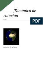 Física_Dinámica de Rotación