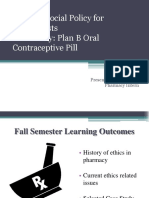 Case Study_Plan B Oral Contraceptive