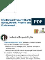 10 IP, Ethics, Health, Access, Environment